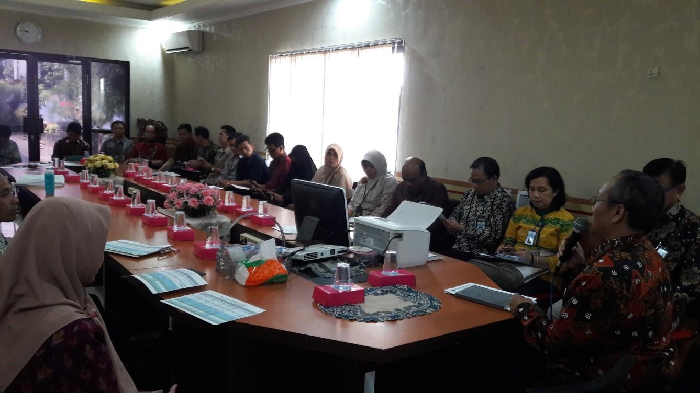 Focus Group Discussion (FGD) Oleh Dirjen Perbendaharaan Kantor Wilayah Jawa Timur bersama BPPKAD Kota Kediri